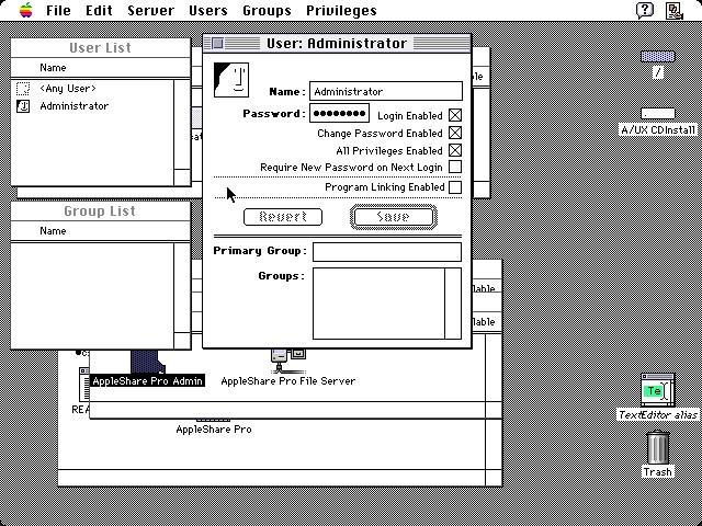 AppleShare Pro 1.1 (1994)