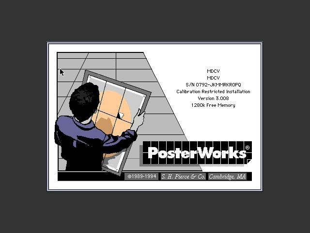 PosterWorks 3.0 (1994)