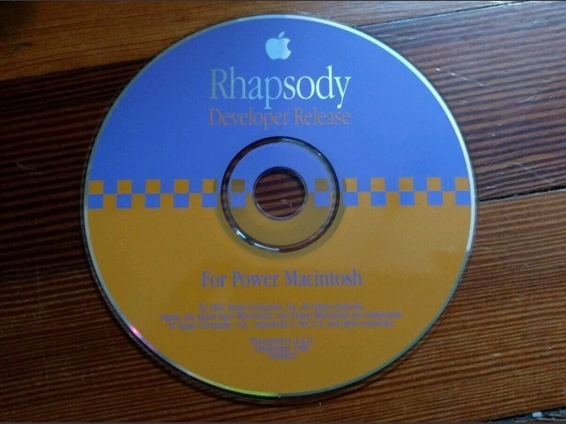 Rhapsody Developer Release CD (1997)