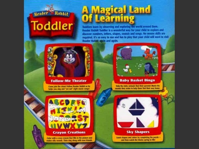 Reader Rabbit Toddler (1997)