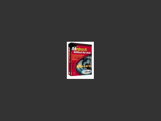 Metro 5 Multi-track Mac Studio