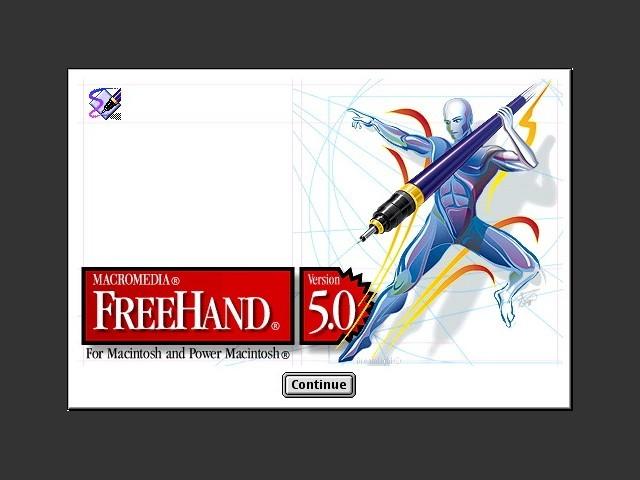 Aldus FreeHand 5.0 (1995)