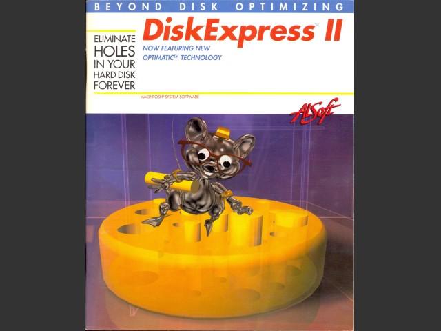 DiskExpress II version 2.2 (1993)