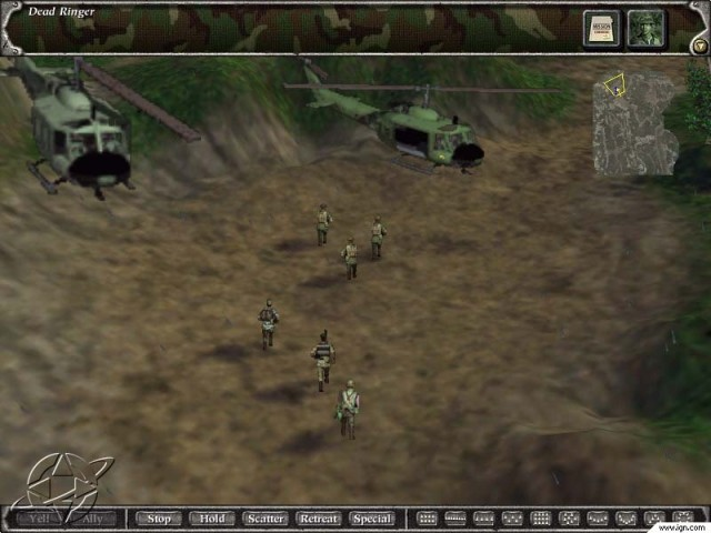 Green Berets: Powered by Myth II (2001)