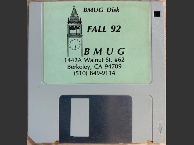 BMUG Fall 92 (1992)