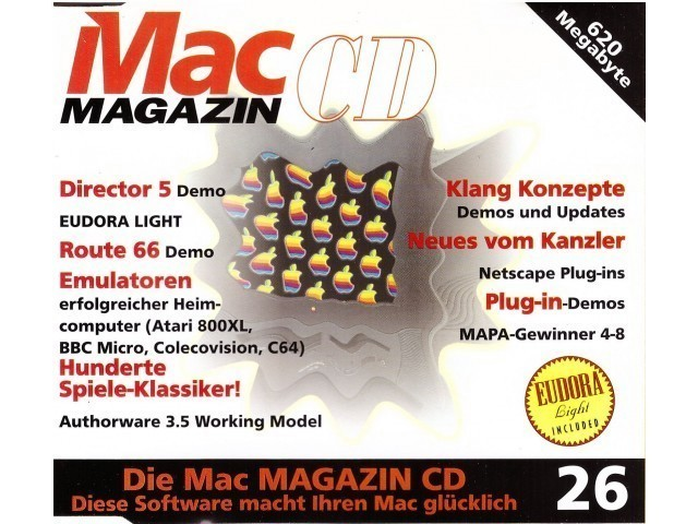 Mac Magazin CD 26 (December 1996, German) (1996)