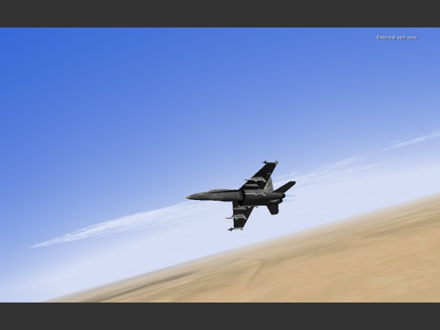 F/A-18 Operation Iraqi Freedom (F/A-18 Hornet OIF) (2005)