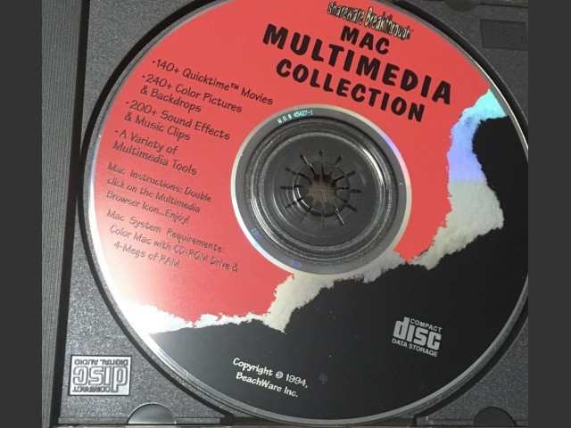 Shareware Breakthrough: Mac Multimedia Collection (1994)