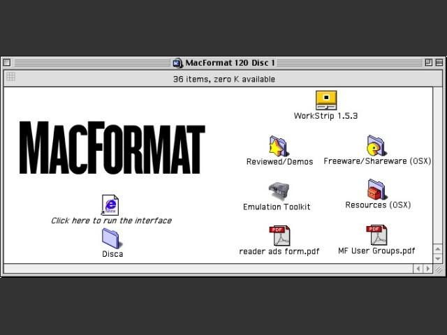 MacFormat CD # 120 (August 2002) (2002)