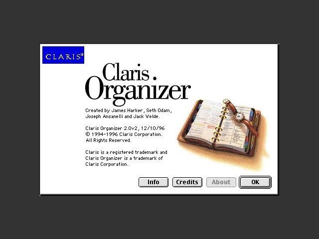 Claris Organizer 2.0 (1994)