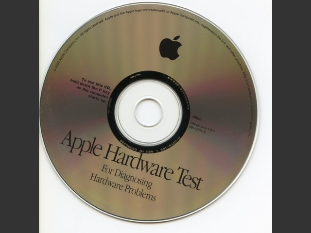 Apple Hardware Test CDs (2000)