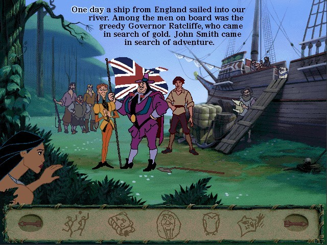 Disney's Animated Storybook: Pocahontas (1996)