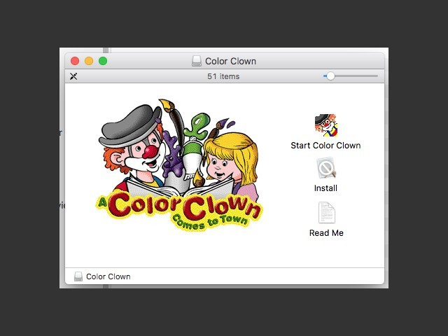 A Color Clown Comes to Town (1997)