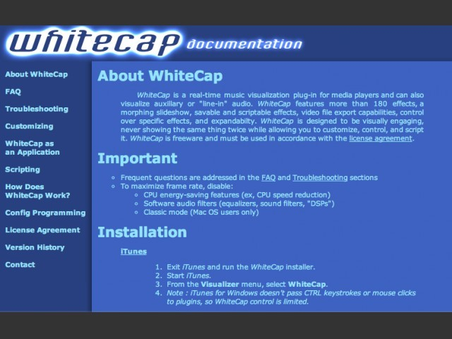 WhiteCap (for OS X) (2002)