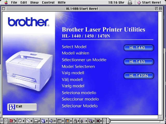 Brother Laser Printer Utilities (2001)