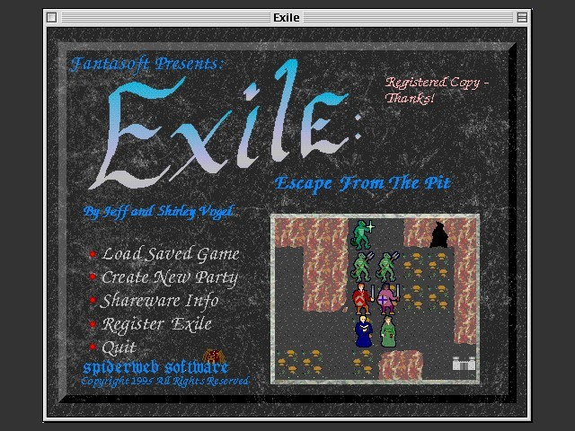 Exile - Escape From The Pit 1.3.1 Registered (1993)