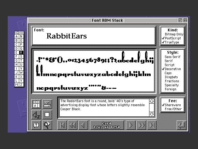 BMUG Fonts '95 (1995)
