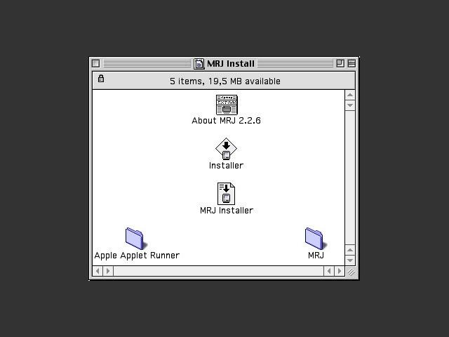 Java MRJ 2.2.6 (2003)