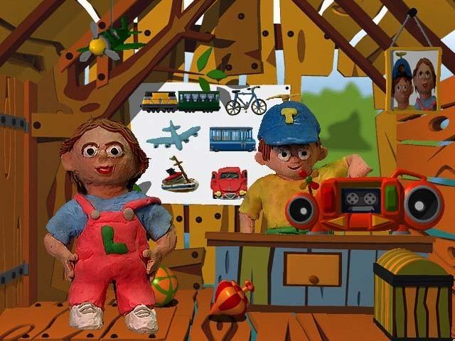 Tom en Lisa: Vervoermiddelen (2000)