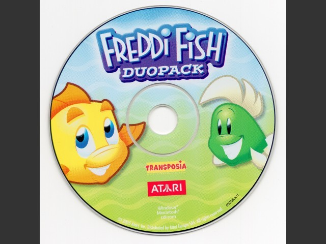 Freddi Fish duopack (1 and 2) (2005)