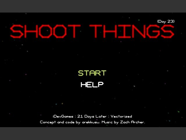 Shoot Things (Day 23) (2004)