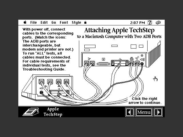 Apple TechStep Software (1991)