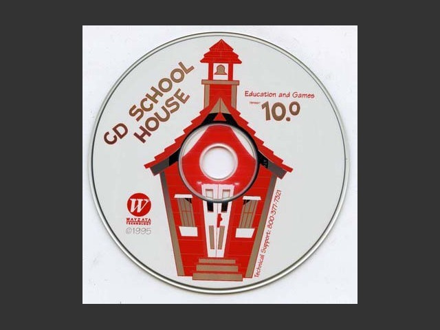 CD School House 10: Education and Games (1995)