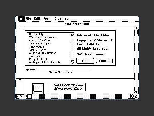 Microsoft File 2.0a (1988)