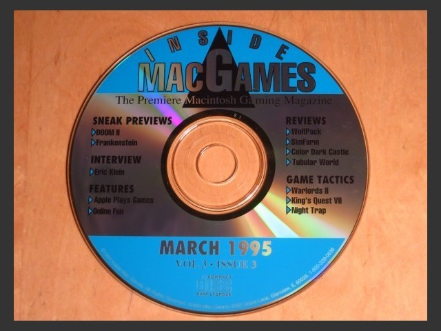 Inside Mac Games CD March 1995 (1995)