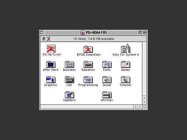 BMUG PD-ROM: Fall 1995 (1995)
