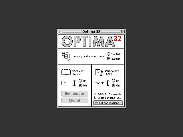 Optima 32 v2.0 (1990)