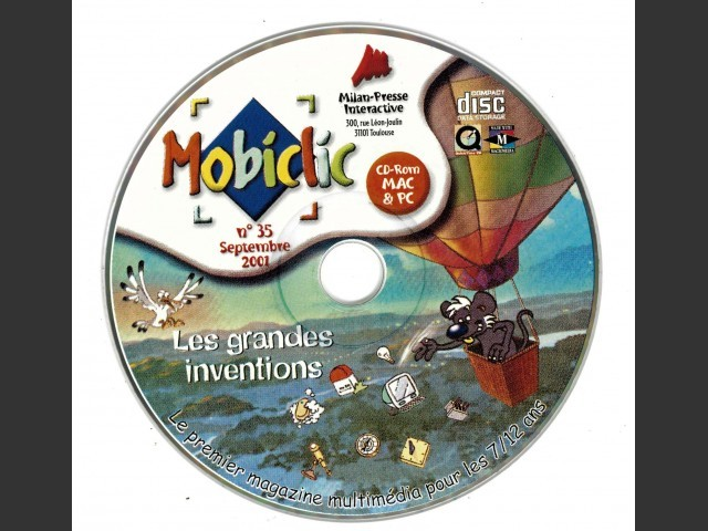 Mobiclic 2001 CD Collection (2001)