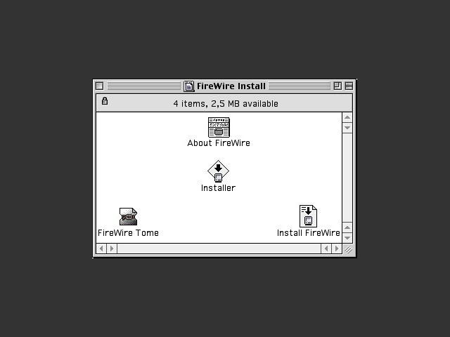 FireWire 2.3.3 (2000)