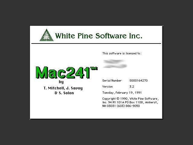 Mac241 (1990)