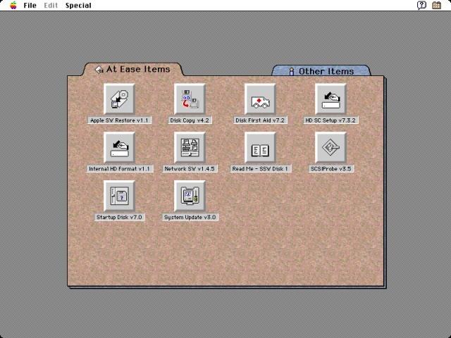 Apple Restoration CD - System Software Series (September 1994) (1994)