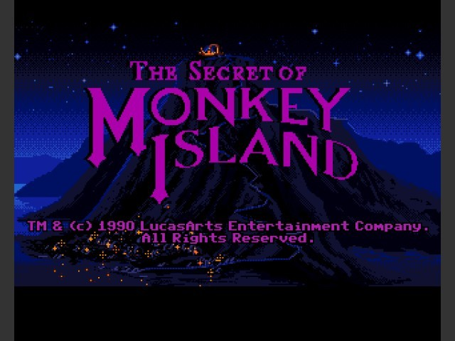The Secret of Monkey Island (1991)