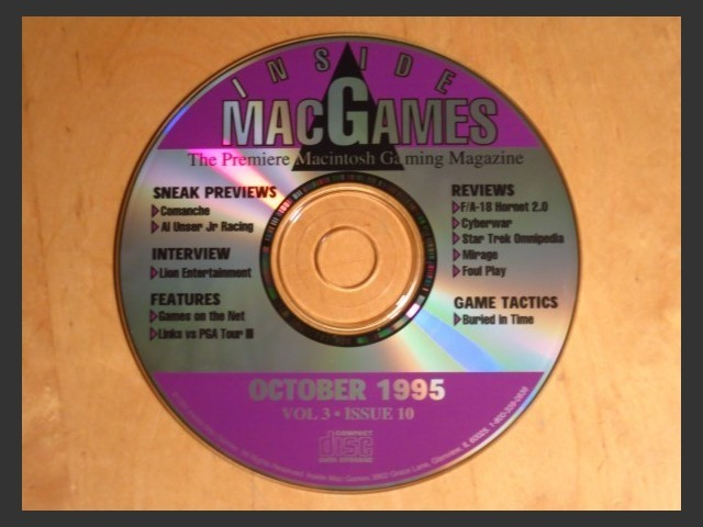 Inside Mac Games CD October 1995 (1995)