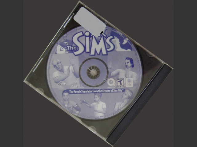 The Sims (2000) CD cover