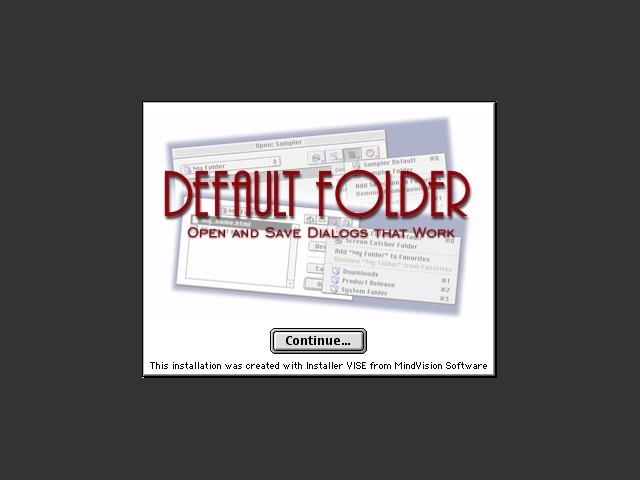 Default Folder (2003)
