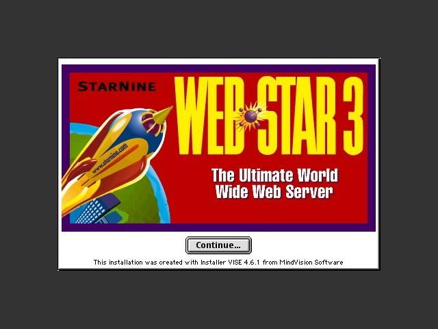 WebSTAR 3.0 (1998)