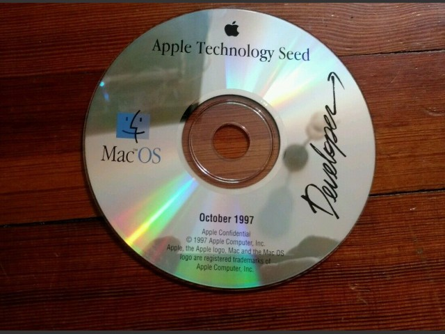 Apple Technology Seed, October 1997