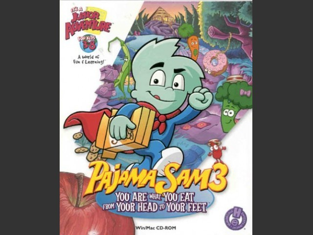 Pajama Sam 3: You Are What You Eat From Your Head To Your Feet! (2000)