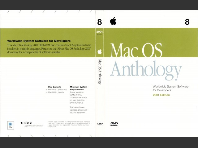 Mac OS Anthology (1999 + 2000 + 2001) - Macintosh Repository