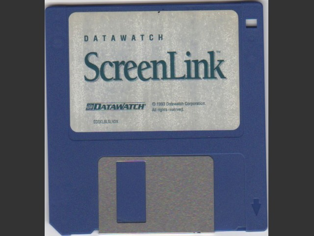 DataWatch ScreenLink 2.0.5 (1993)