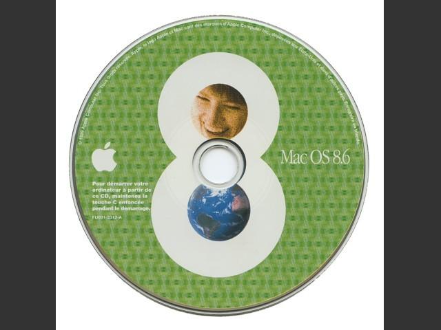691-2312-A, Mac OS 8.6 Français Universel (1999)