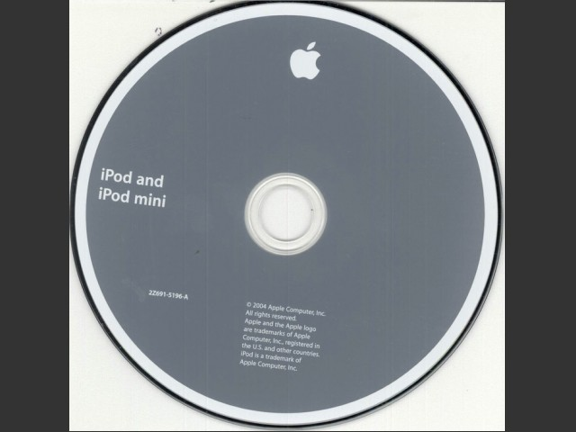 iPod 3.0.2 CD for iPod 4th Gen and iPod mini (2004) (2004)
