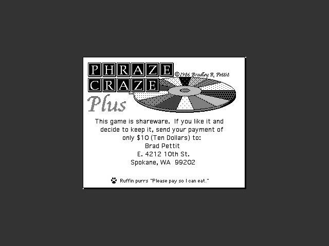 Phraze Craze Plus (1986)