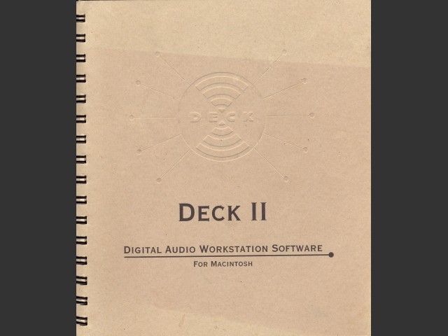 Deck II versions 2.1 and 2.2 (1994)