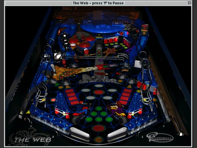 The Web - Game Screen
