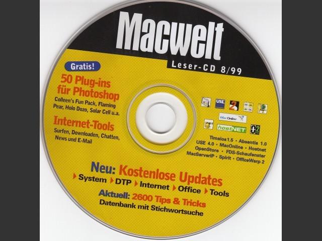 Macwelt Leser CD 99-8 (August 1999, German) (1999)